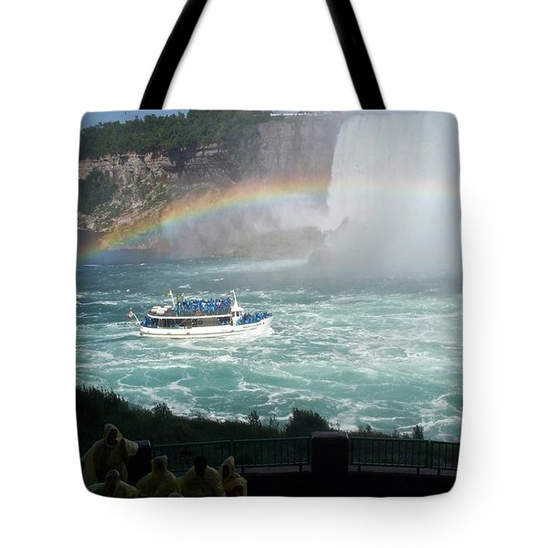 Tote Bag featuring the photograph Maid Of The Mist -41 by Barbara McDevitt