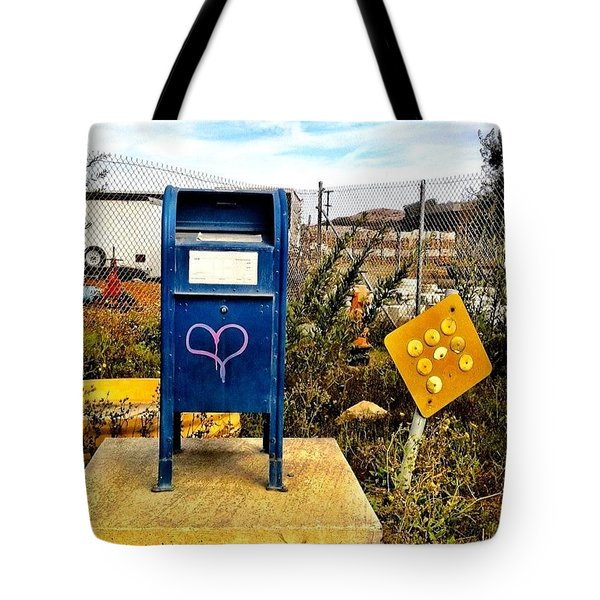Mailbox Tote Bag