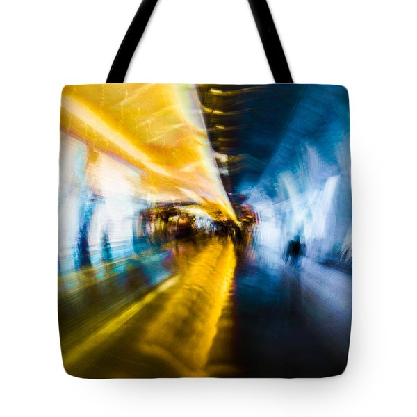 Main Access Tunnel Nyryx Station Tote Bag by Alex Lapidus
