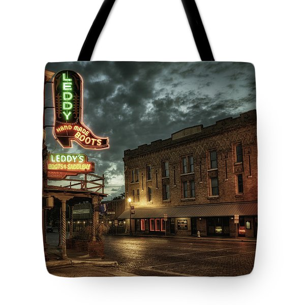 Main And Exchange Tote Bag