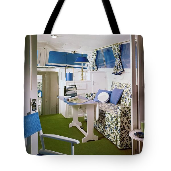 Main Cabin Of A Boat Tote Bag