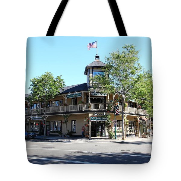 Main Street Americana Pleasanton California 5d23987 Tote Bag