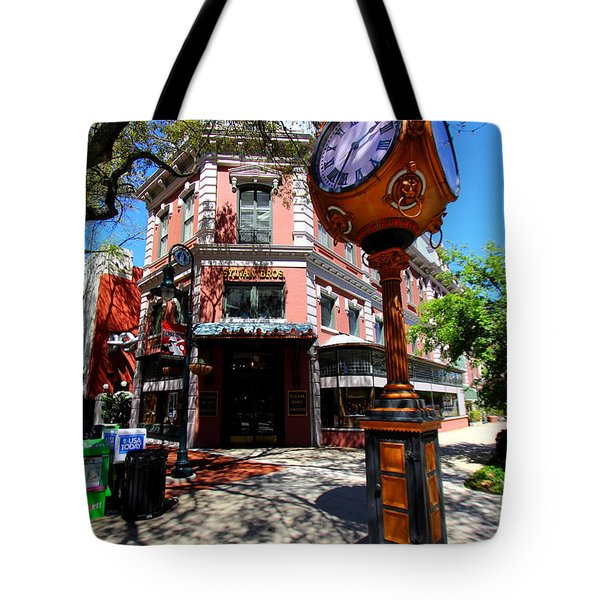 Tote Bag featuring the photograph Main Street Columbia by Joseph C Hinson Photography