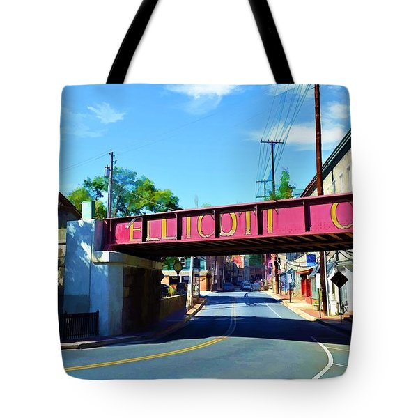 Main Street - Ellicott City Tote Bag