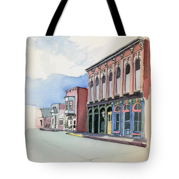Main Street In Gosport Tote Bag