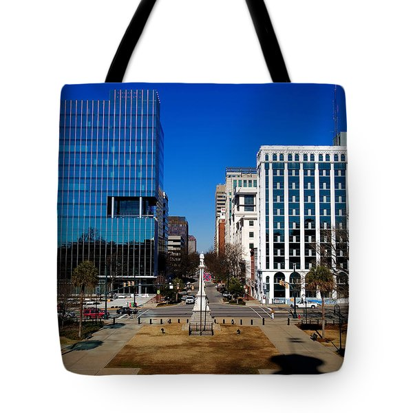 Tote Bag featuring the photograph Main Street South Carolina by Joseph C Hinson Photography
