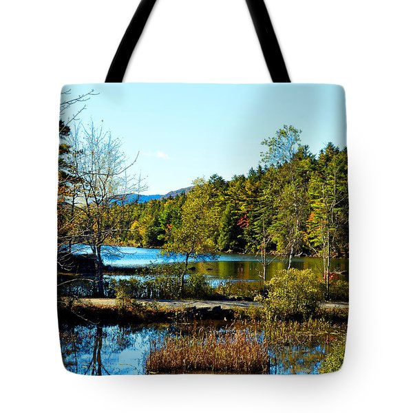 Maine Acadia National Park Tote Bag