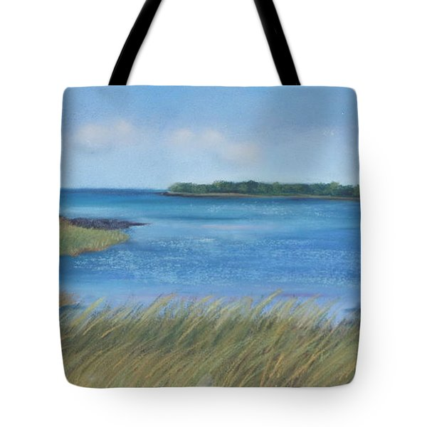 Maine Blues Tote Bag