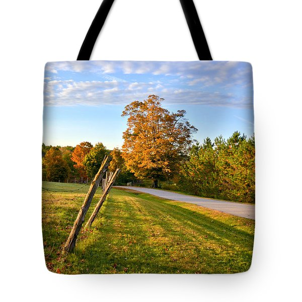Maine Morning Tote Bag