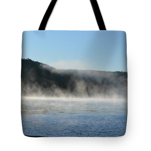 Tote Bag featuring the photograph Maine Morning by James Petersen