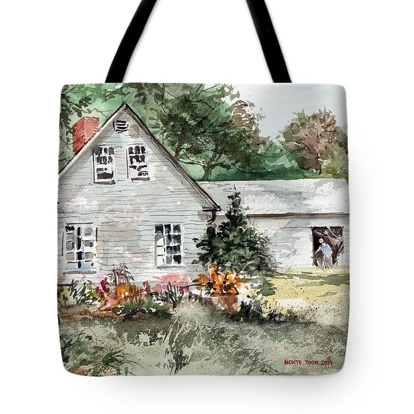 Maine Sunshine Tote Bag