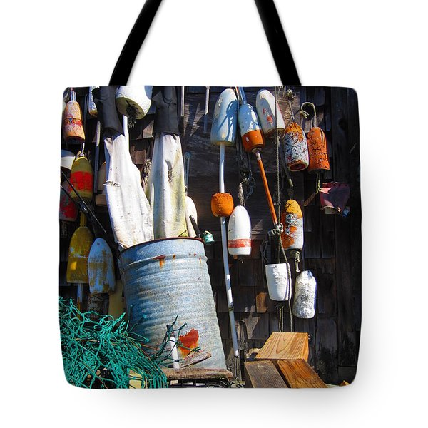 Maine Wall Art Tote Bag