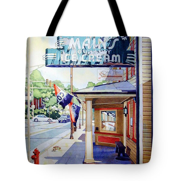 Main's Ice Cream Tote Bag