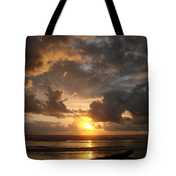 Tote Bag featuring the photograph Majestic Sunset by Athena Mckinzie
