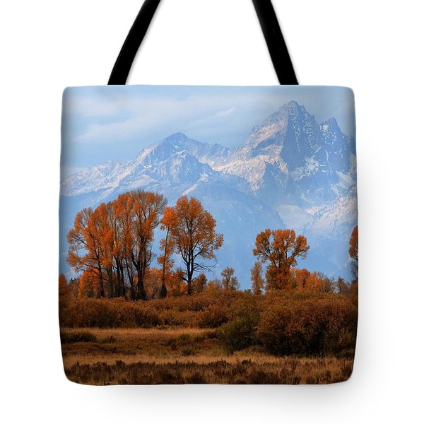 Majestic Backdrop Tote Bag