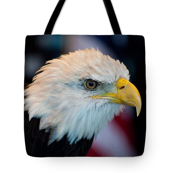 Majestic Bald Eagle Tote Bag