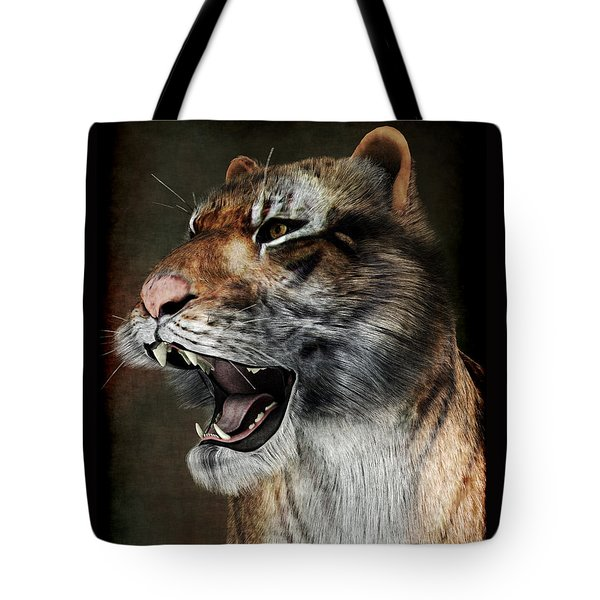 Majestic Beast Tote Bag by Maynard Ellis