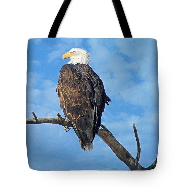 Majestic Tote Bag by Bob Hislop