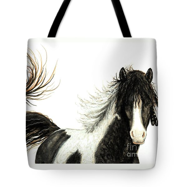 Majestic Horse Series #76 Tote Bag by AmyLyn Bihrle