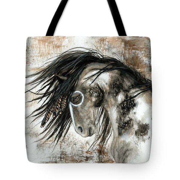 Majestic Horse Series 88 Tote Bag by AmyLyn Bihrle