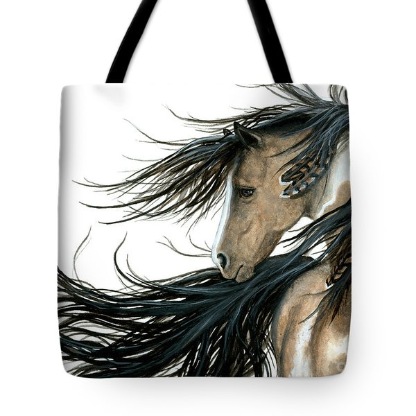 Majestic Horse Series 89 Tote Bag by AmyLyn Bihrle