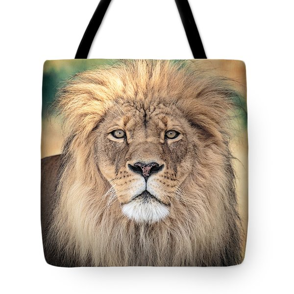 Majestic King Tote Bag by Everet Regal