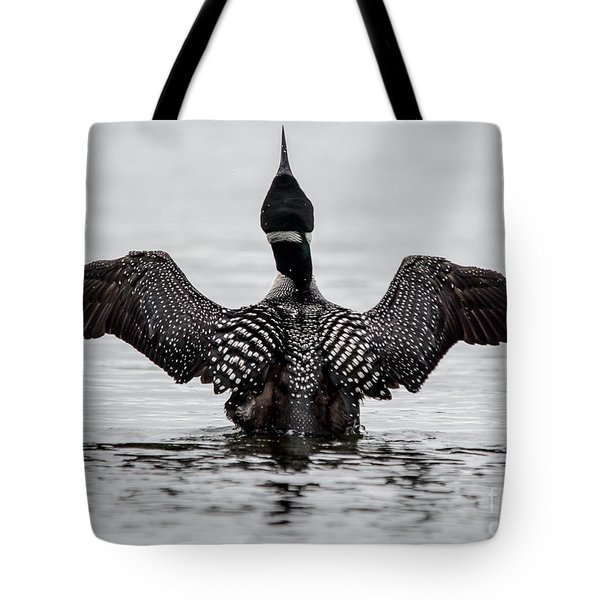 Majestic Loon Tote Bag