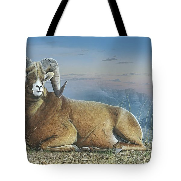 Majestic Tote Bag by Mike Brown