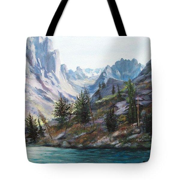 Majestic Montana Tote Bag by Patti Gordon