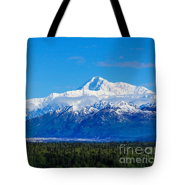 Majestic Mt Mckinley Tote Bag by Jennifer White