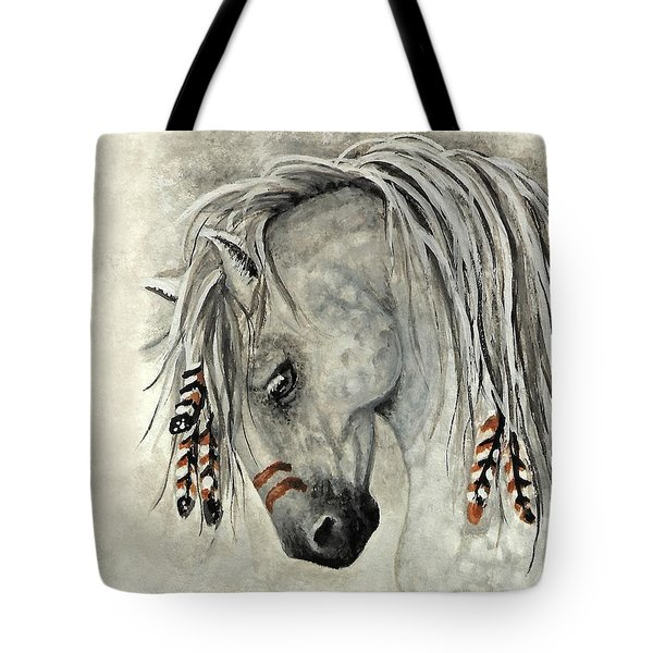 Majestic Mustang 30 Tote Bag by AmyLyn Bihrle