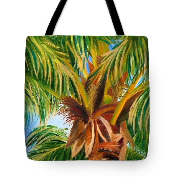 Majestic Palm Tote Bag