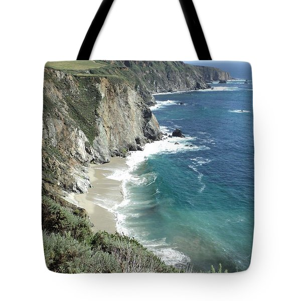 Tote Bag featuring the photograph Majestic Sea by Carla Carson