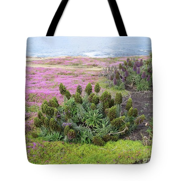 Majestic Shoreline Tote Bag