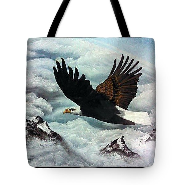 Tote Bag featuring the painting Majestic Splendor by Dianna Lewis