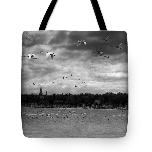 Major Migration Tote Bag