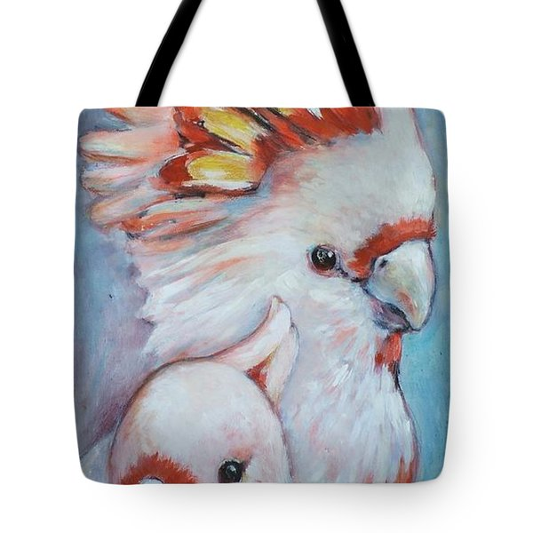 Major Mitchell Mates 2 Tote Bag by Ekaterina Mortensen