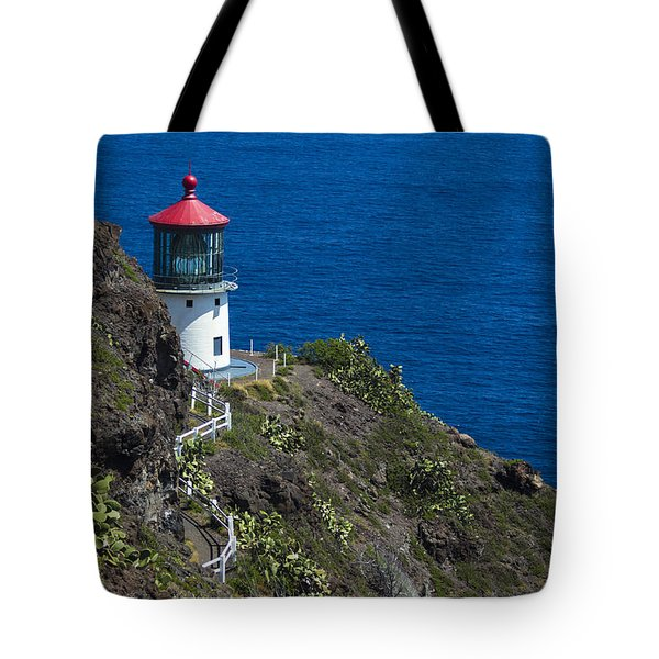Makapuu Lighthouse2 Tote Bag