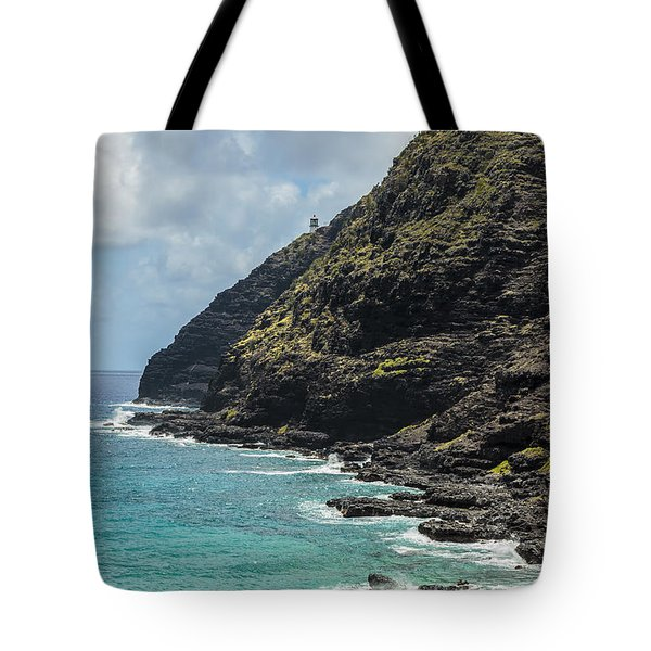 Makapuu Point 1 Tote Bag by Leigh Anne Meeks