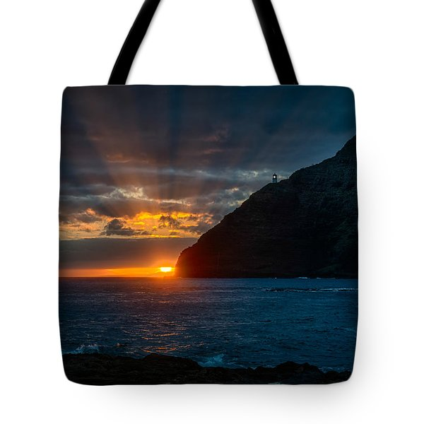 Makapuu Sunrise Tote Bag