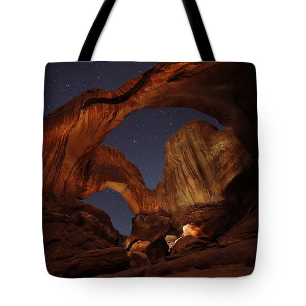 Tote Bag featuring the photograph Gimme Another Double by David Andersen