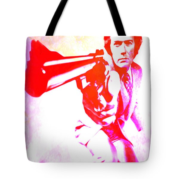 Tote Bag featuring the painting Make My Day by Brian Reaves