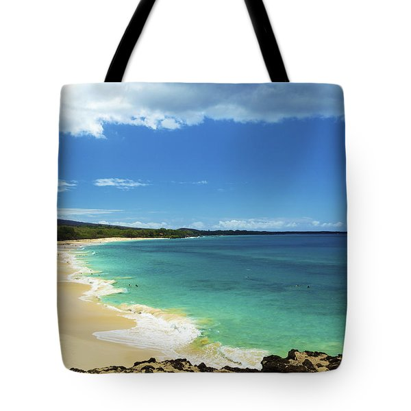 Makena Beach Lookout Tote Bag by Kicka Witte