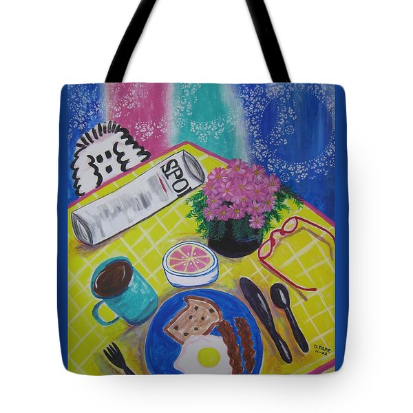 Makin' His Move Tote Bag