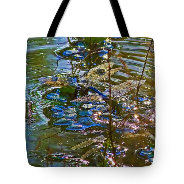 Tote Bag featuring the photograph Making A Deposit For The Future by Gary Holmes