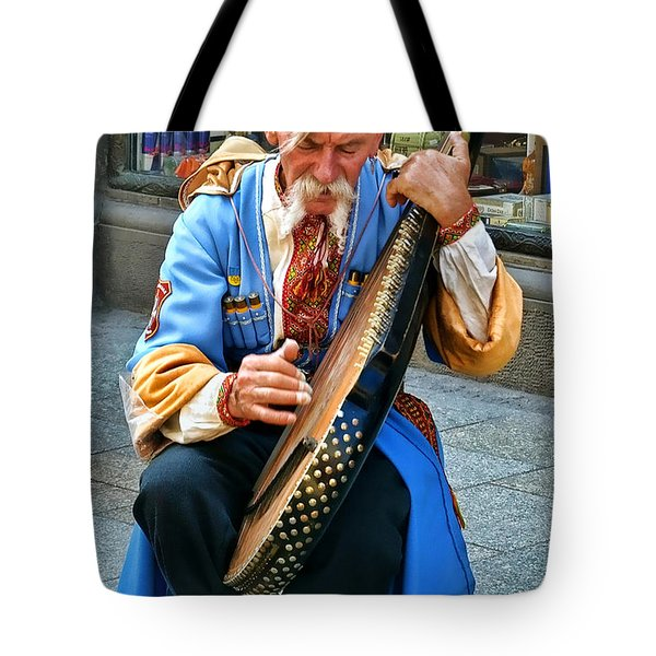 Tote Bag featuring the photograph Making A Living by Mariola Bitner