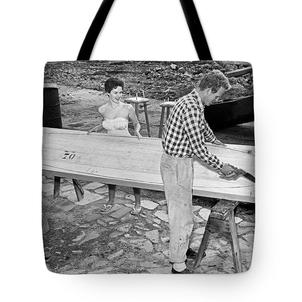 Making A Surfboard Tote Bag