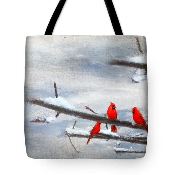Making Acquaintances Tote Bag