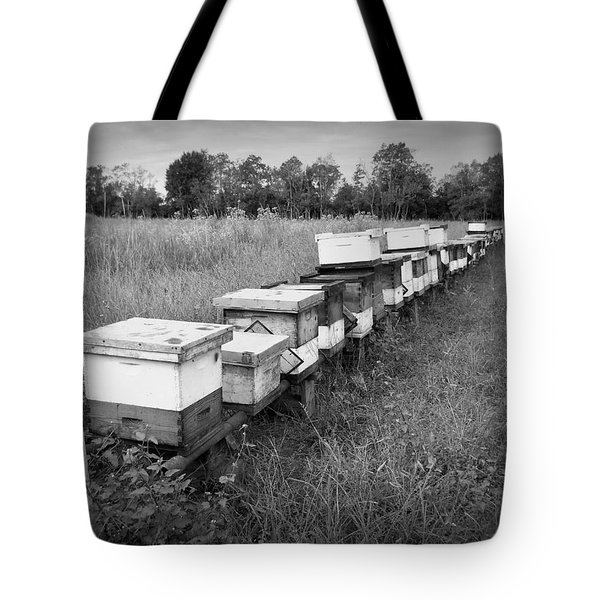Making Honey II Bw Tote Bag