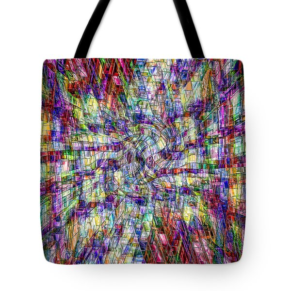 Making Sense Of Things Tote Bag by Kellice Swaggerty